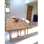 Campaign table by makers bespoke furniture