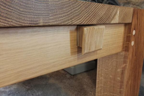 Oak table extension plug