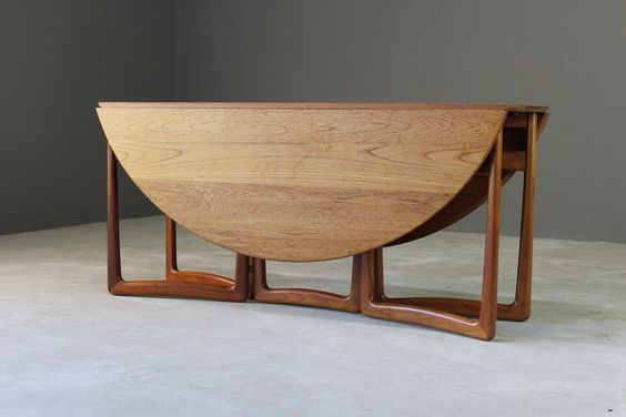 Original mid century drop leaf gateleg table