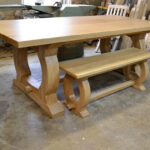 Dining seat with 6 seat table