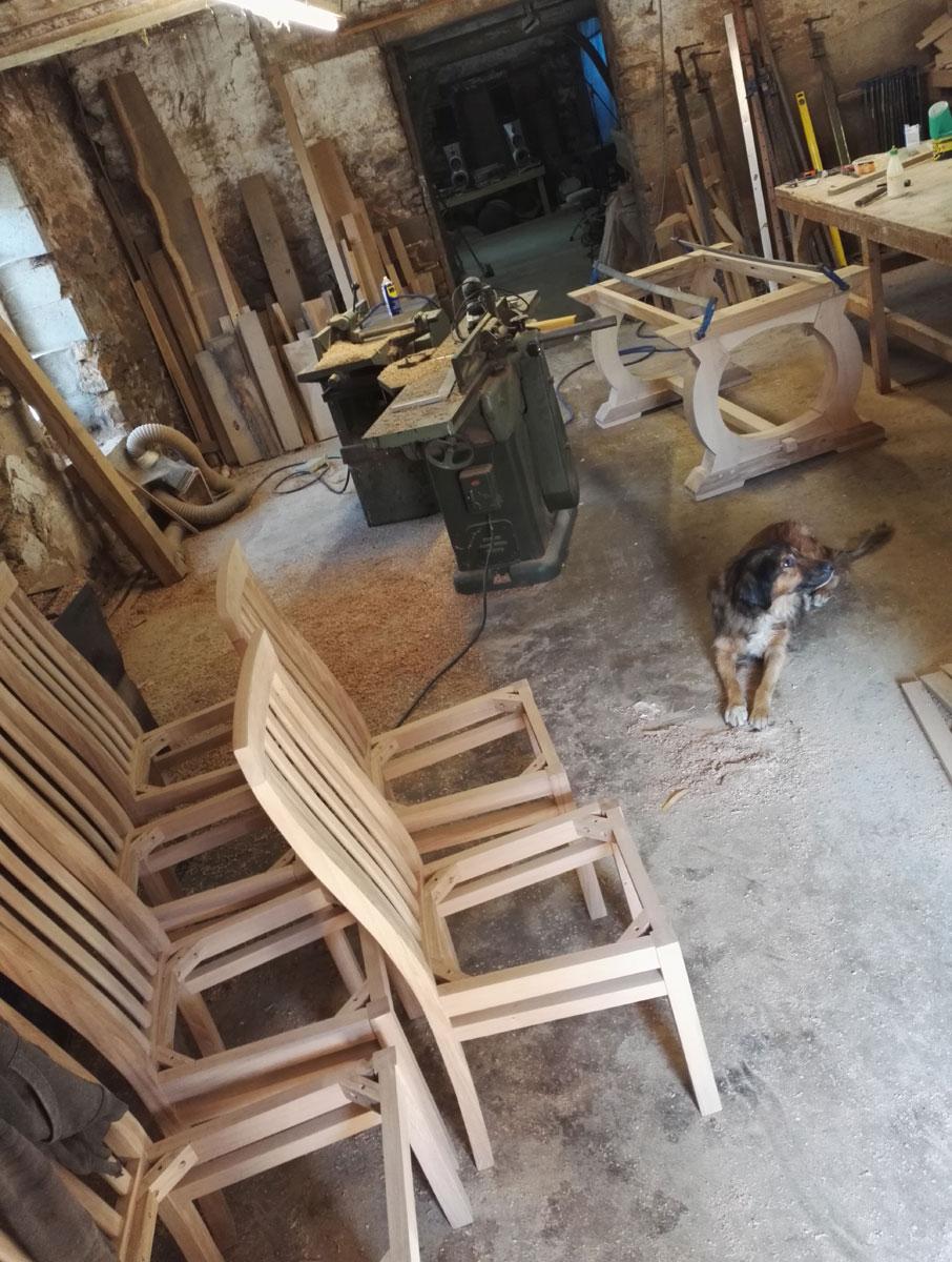 Makers furniture workshop france