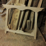 Arts and crafts trestle table