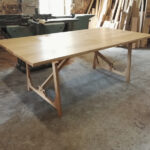 Table with a osmo oil matt finish