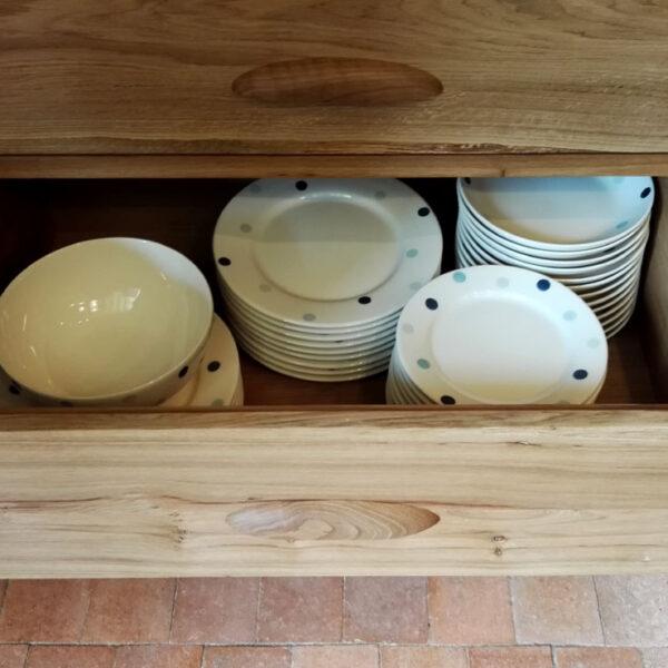 Deep soft-close kitchen drawer