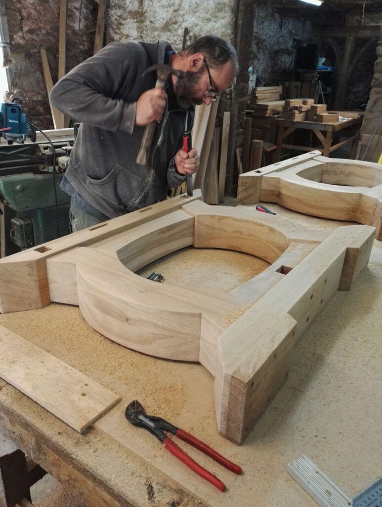 Atelier de makers meuble sur mesure