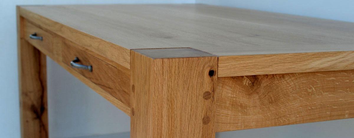 chêne durable tables sur mesure