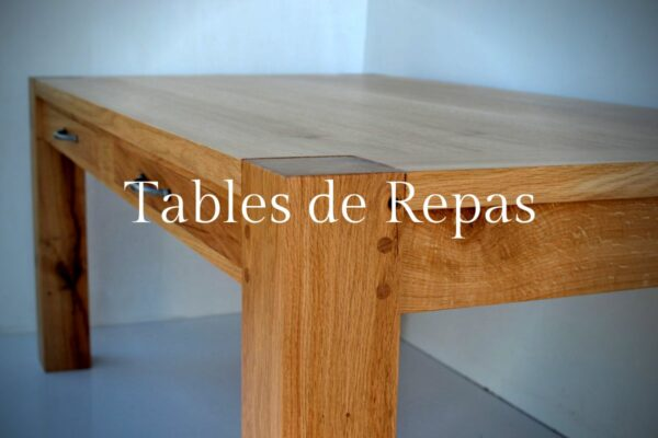 Tables de repas sur mesure